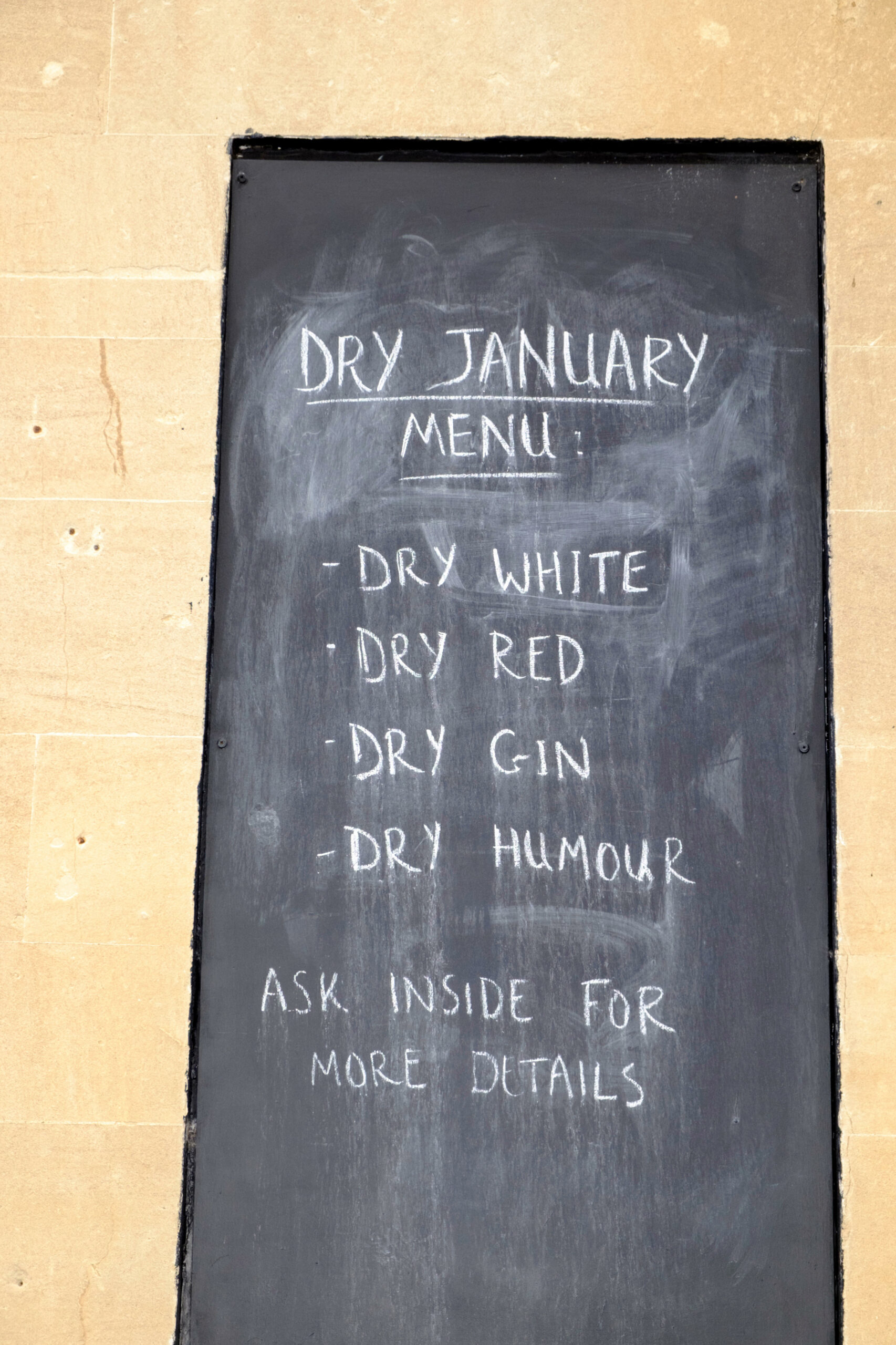 what happens to your body in Dry January