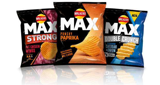 Walkers crisps have released two new exciting flavours of Max potato chips (Credit: Walkers)