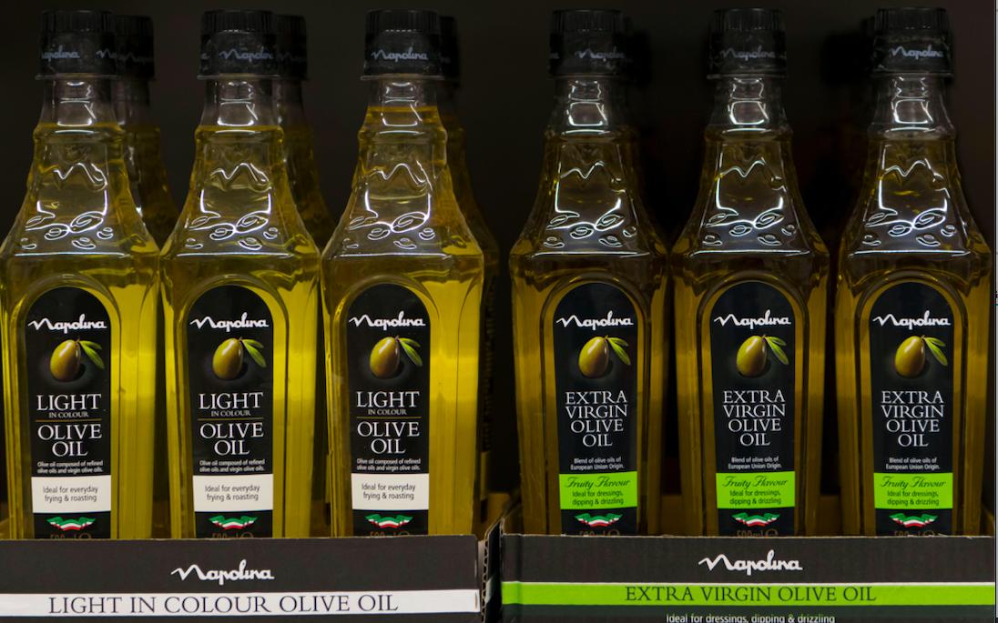 Light olive oil