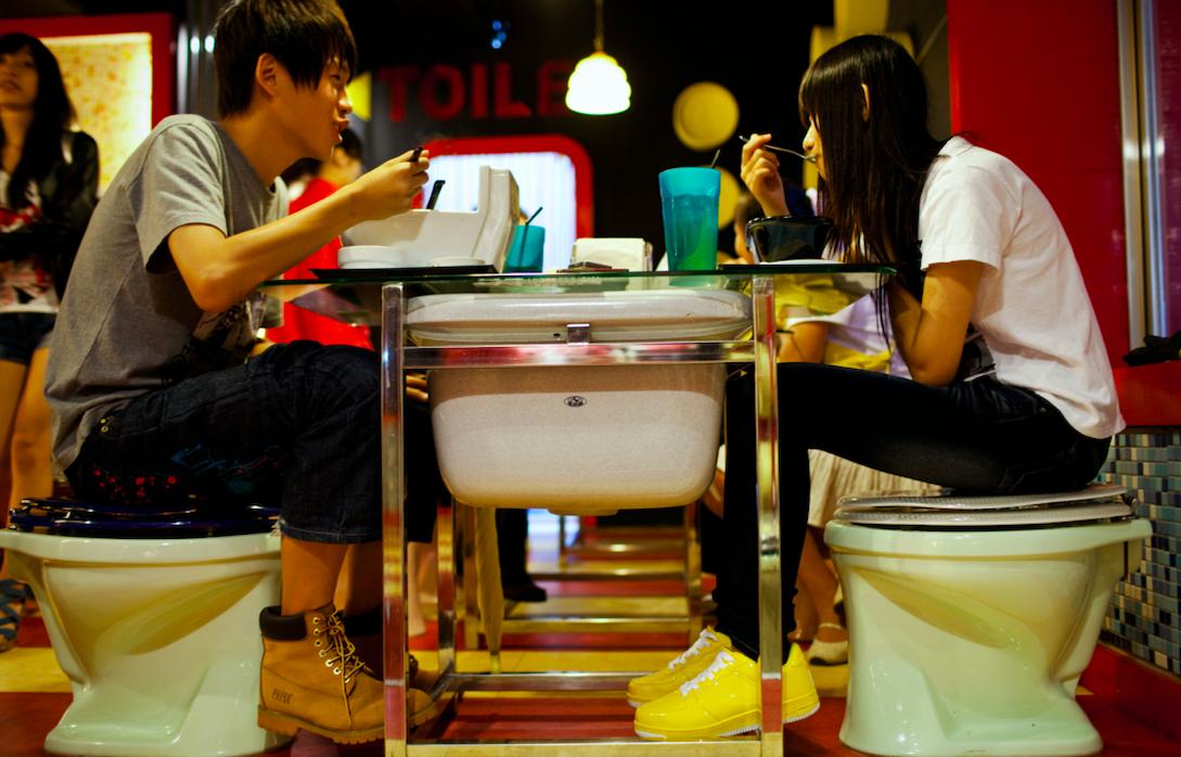 Modern Toilet worst first date restaurant
