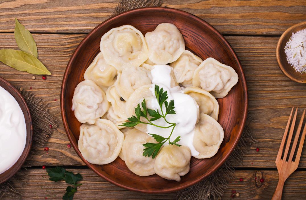 pelmeni dumplings