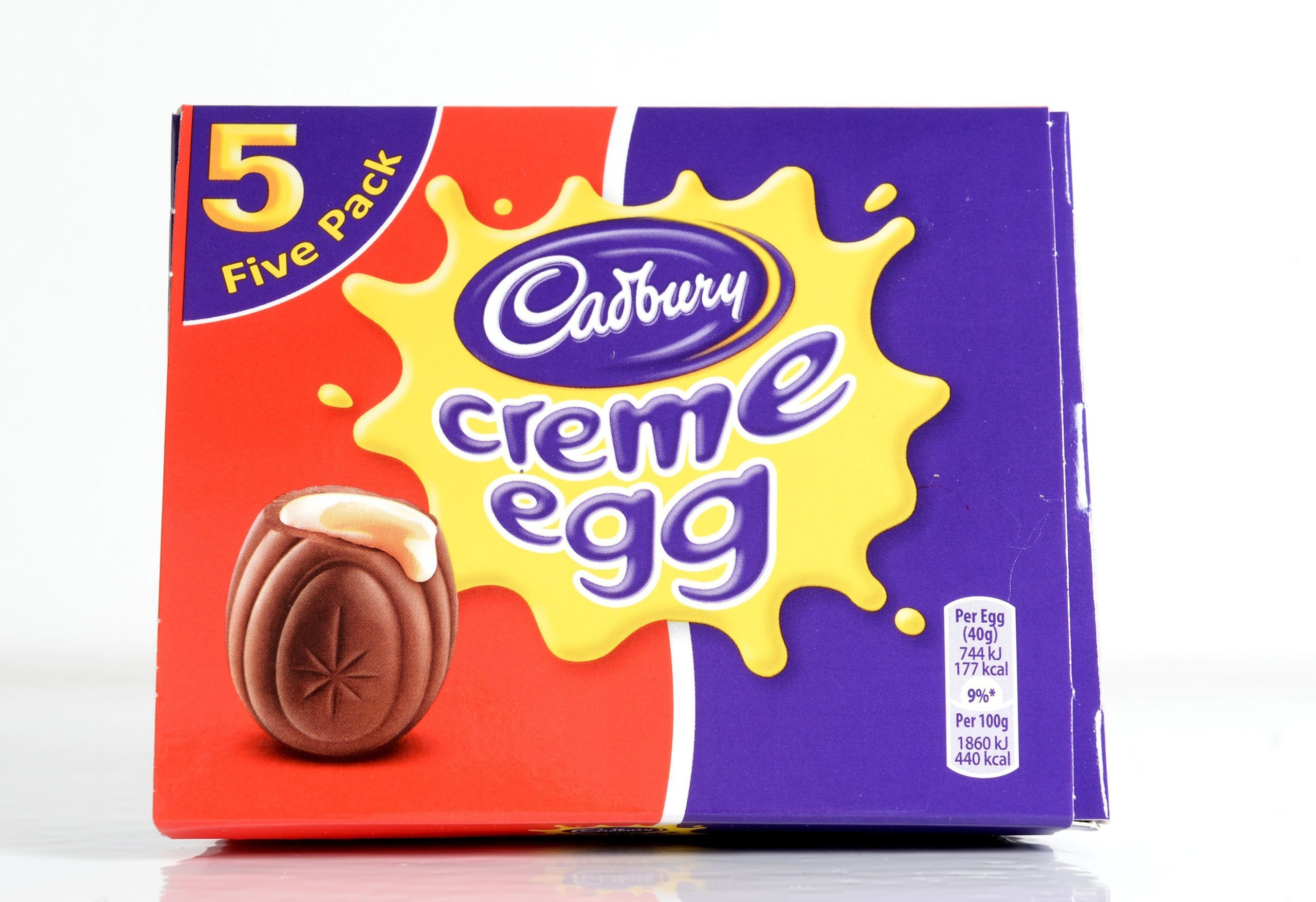 New creme egg advert creme egg box