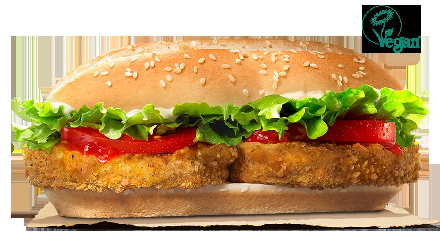 Burger King vegan burger