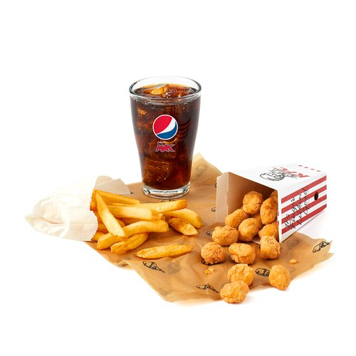 KFC popcorn chicken half price