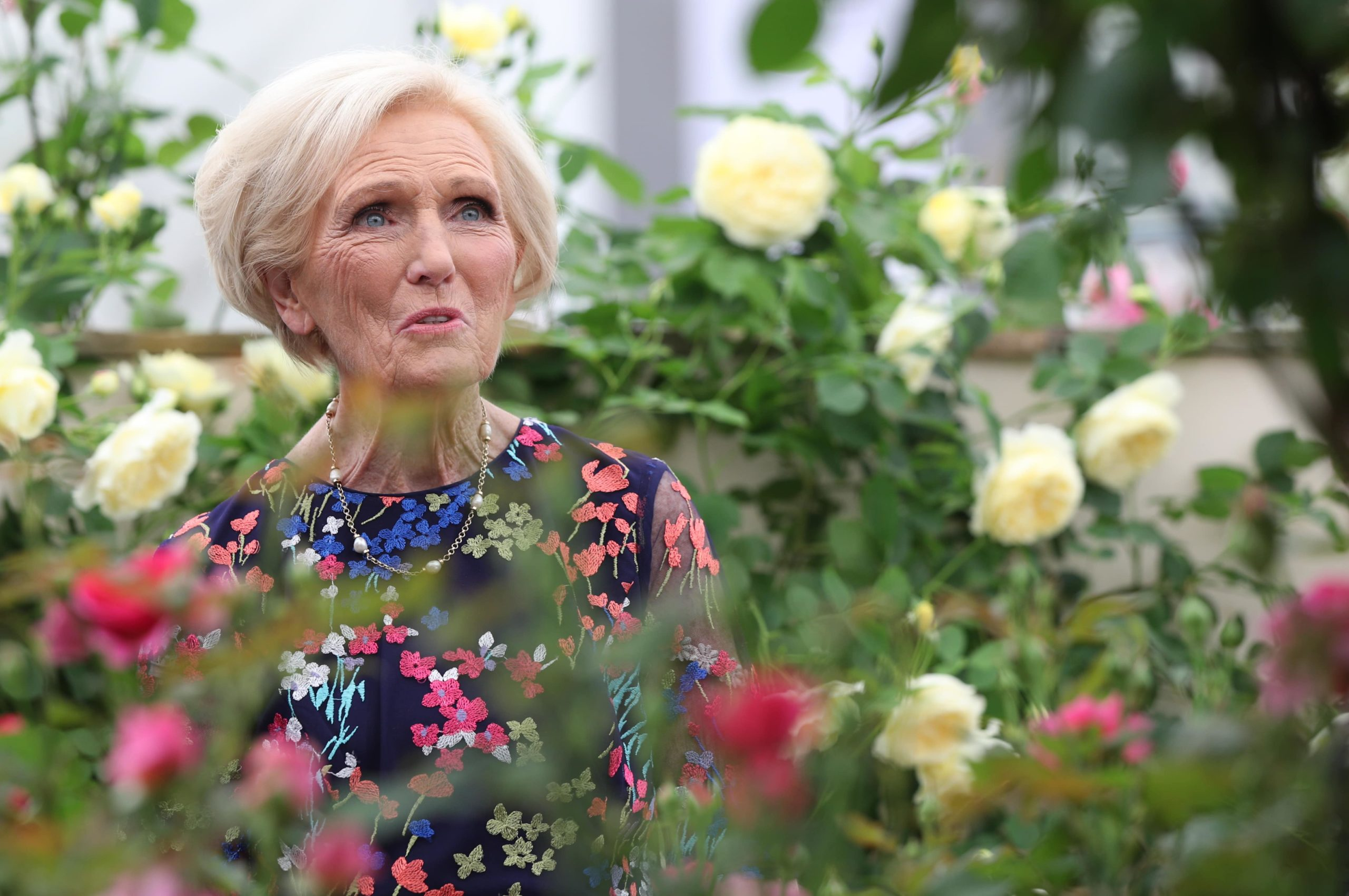 Why did Mary Berry leave Bake Off