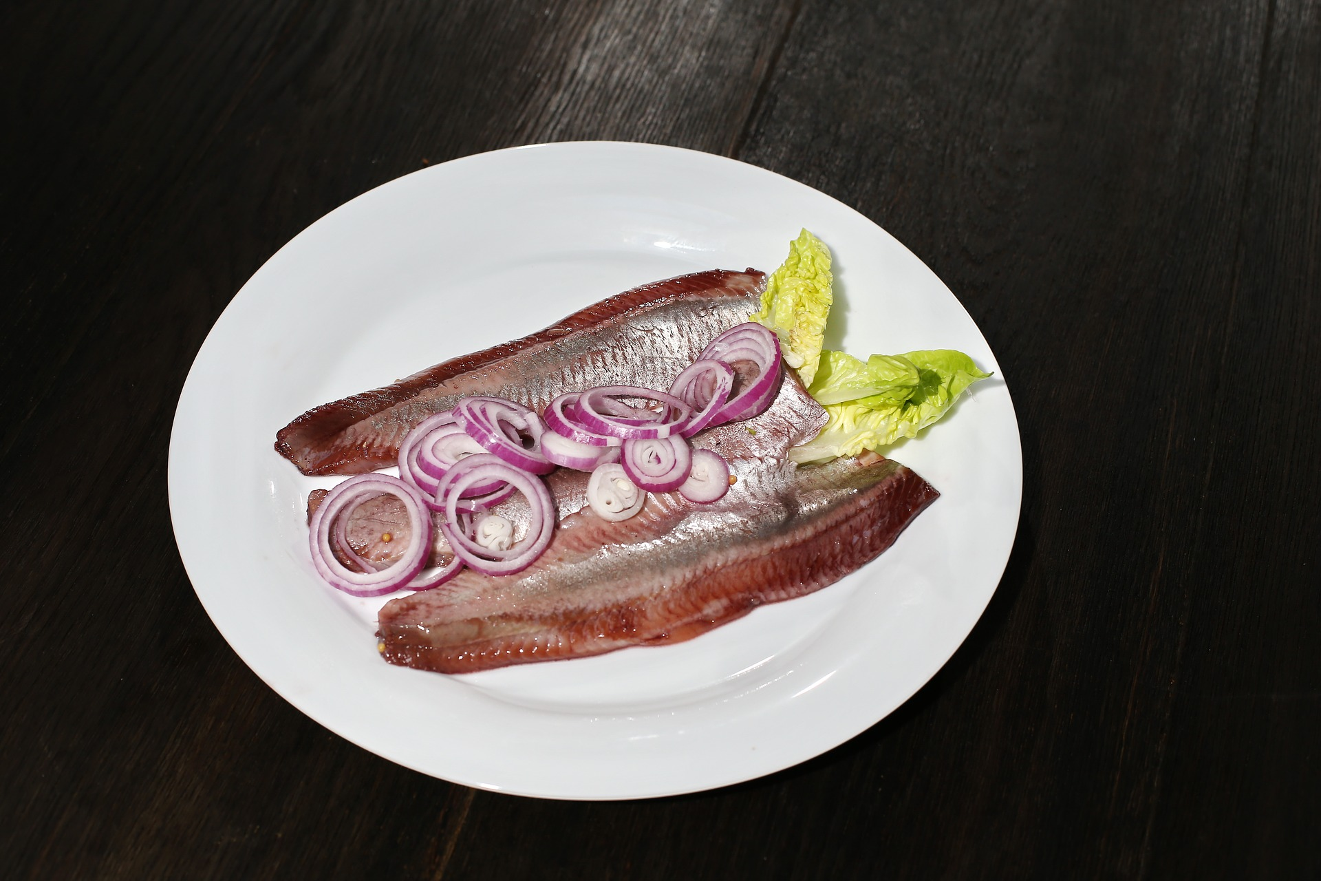 Pickled Herring is a popular New Year's Eve food idea - Credit: Pixabay