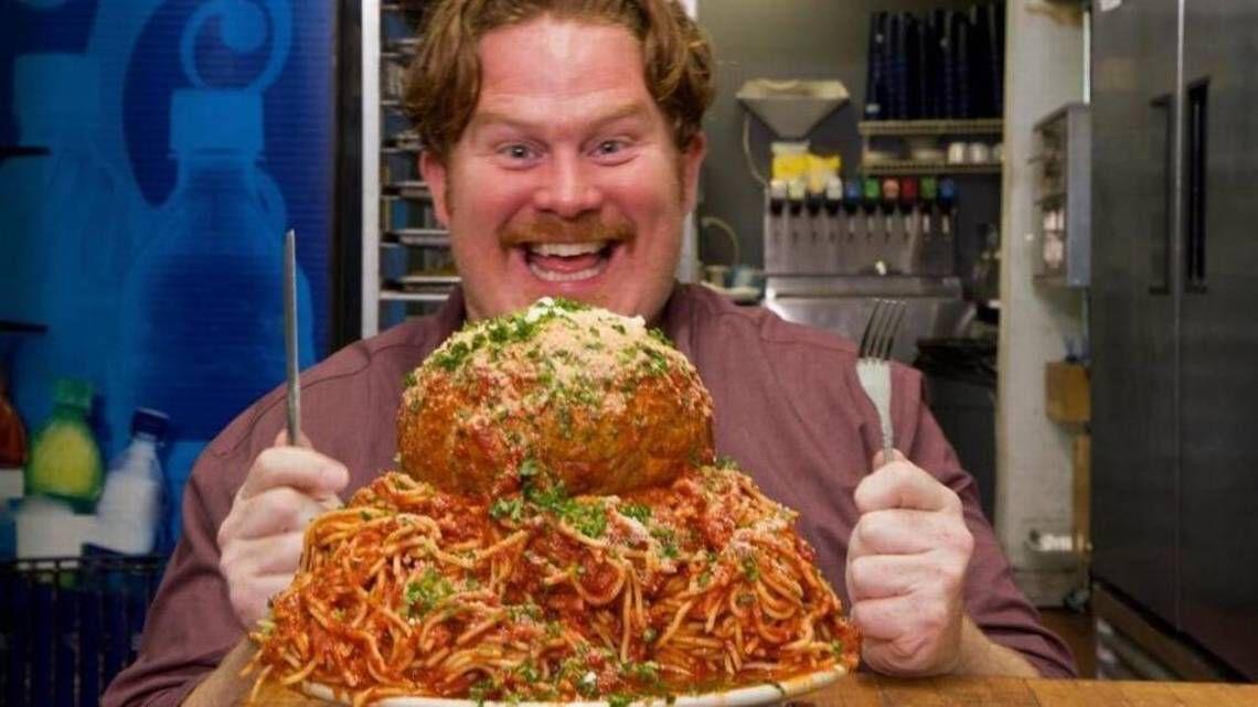 Casey Webb Man v Food (Credit: Food Network)