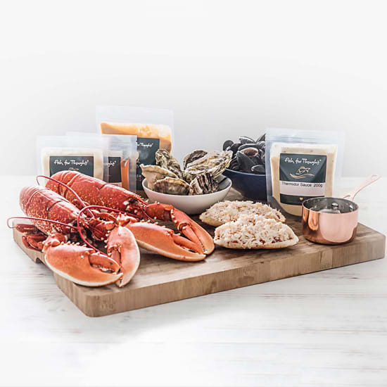 Valentine's Day food gift ideas lobster