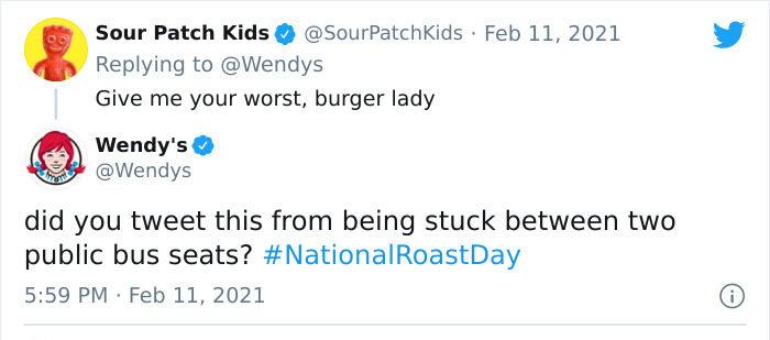 Sour Patch Kids roast