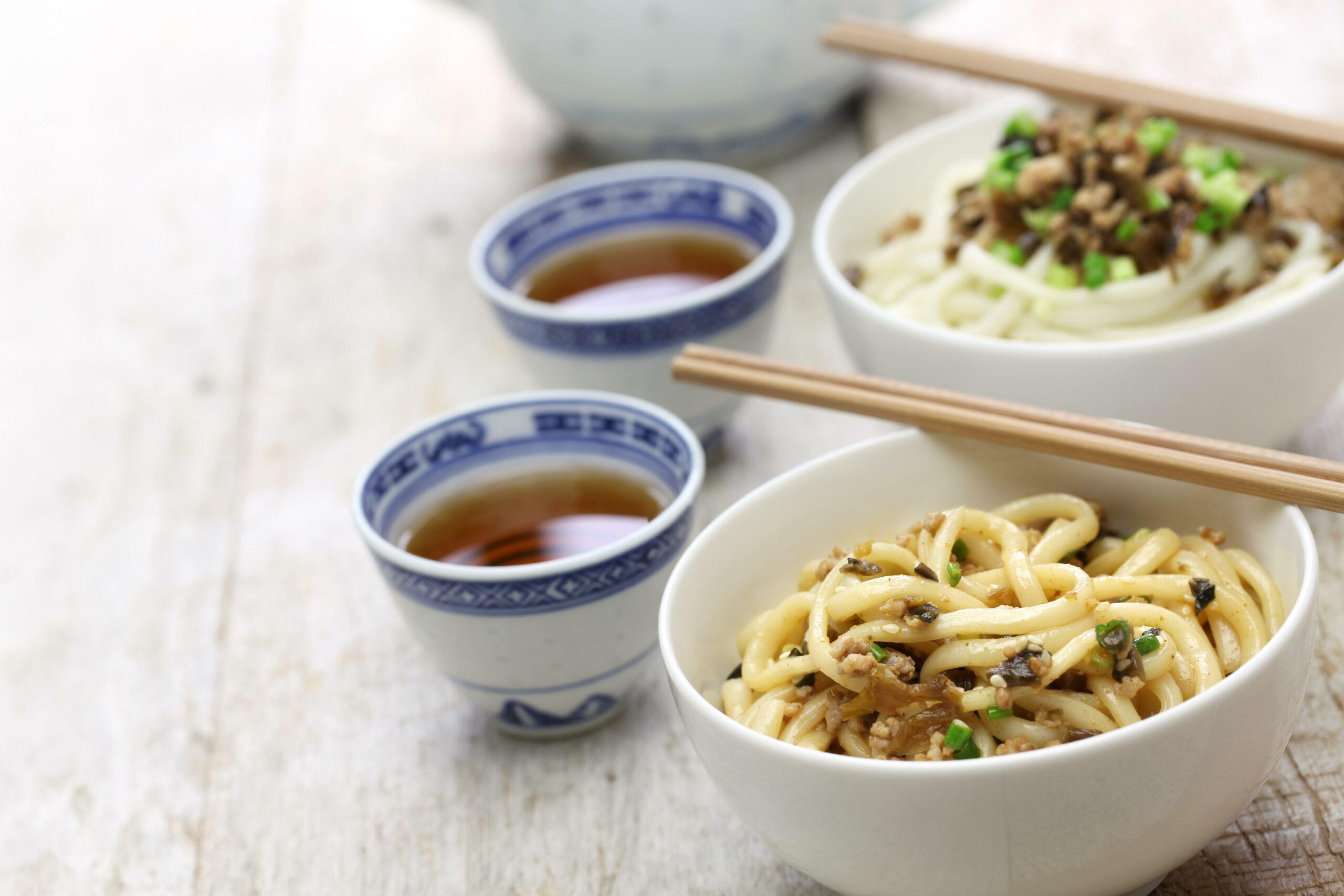 dan dan noodles Chinese New Year