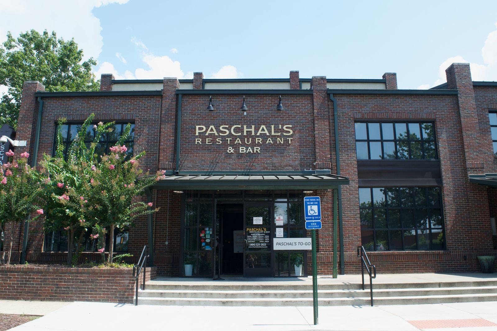 Paschal's restaurant frontage