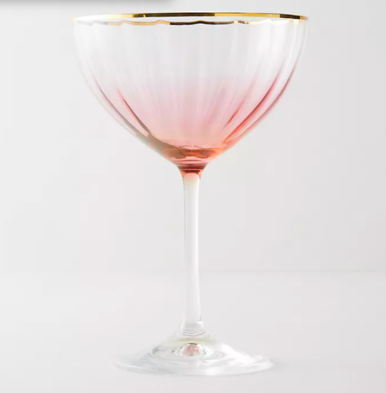 Coupe Glasses Anthropologie