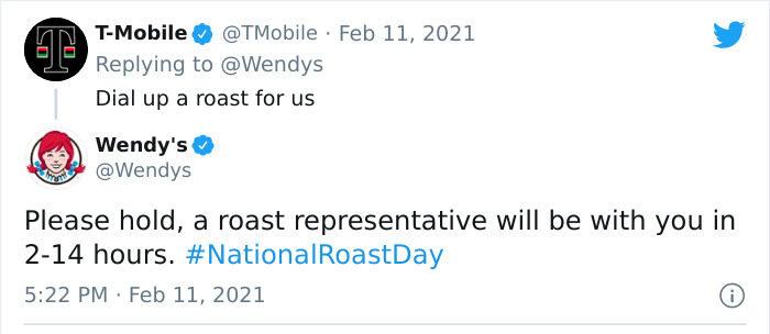 Wendys T-mobile roast