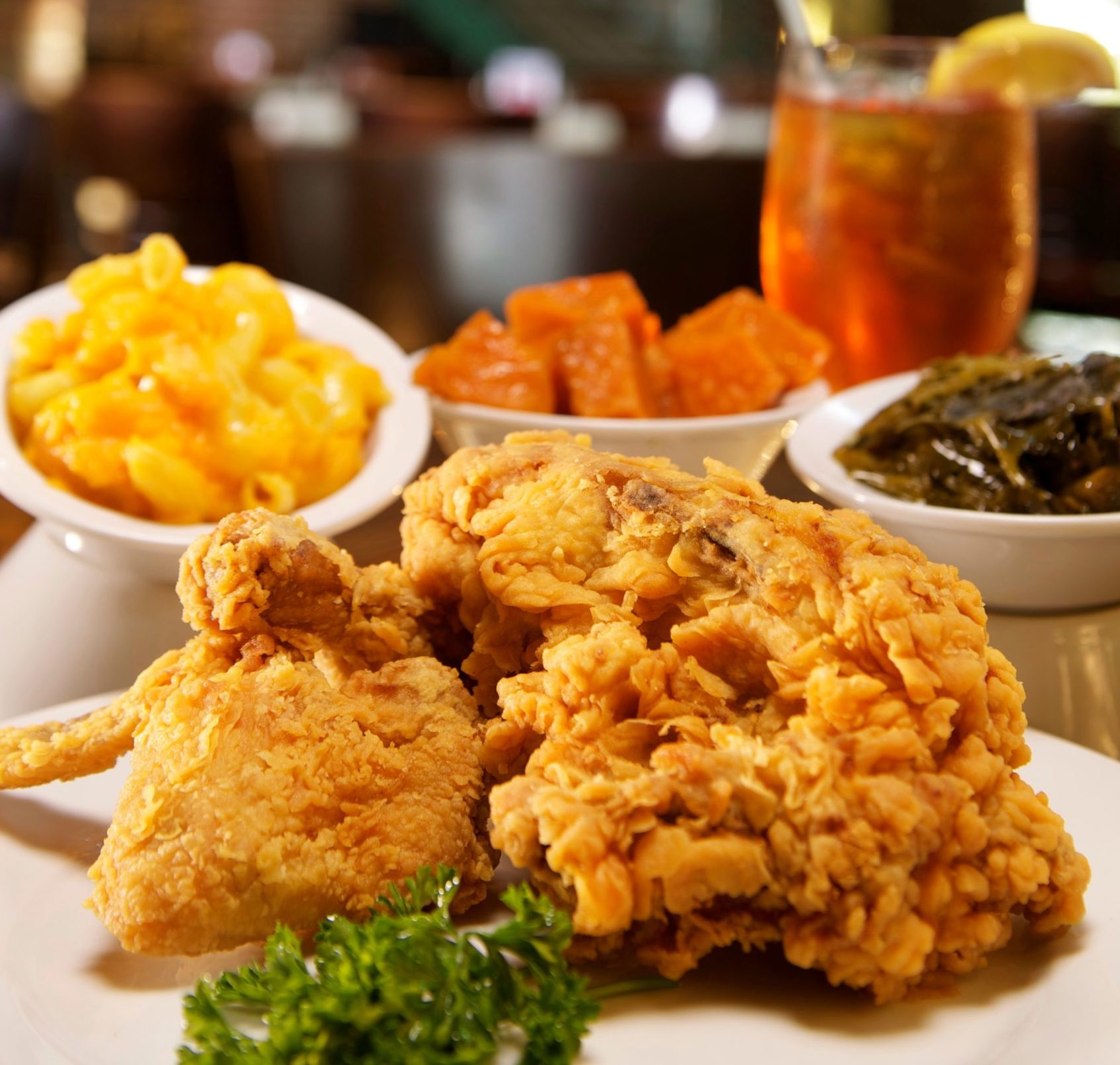 Paschal's famous fried chicken