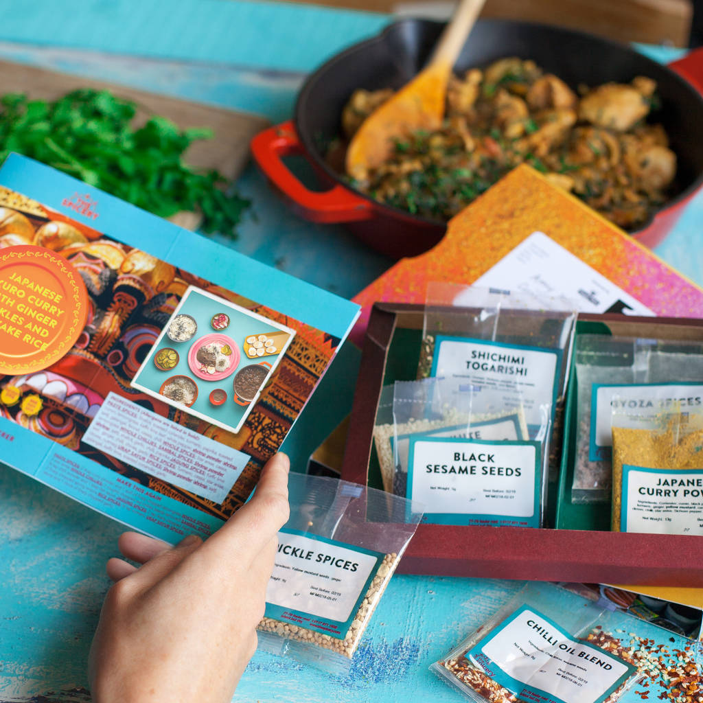 curry subscription best Valentine's Day food ideas
