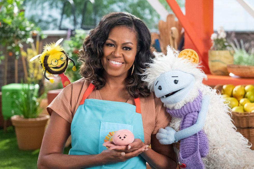 Michelle Obama netflix cooking show