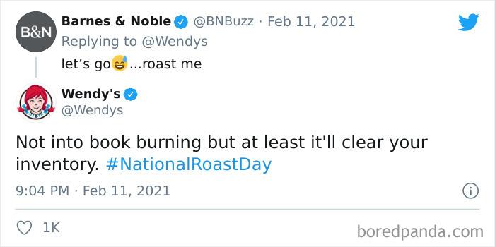 Barnes & Noble roast
