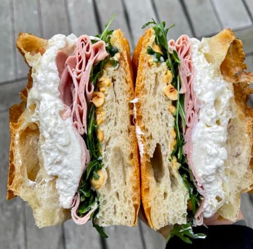 Mr Z Luxury sandwiches Da Vinci