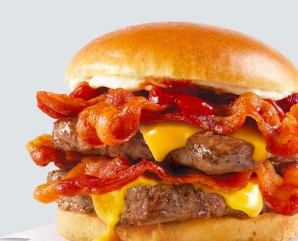 Baconator Wendy's UK