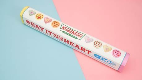 Krispy Kreme Love Hearts competition