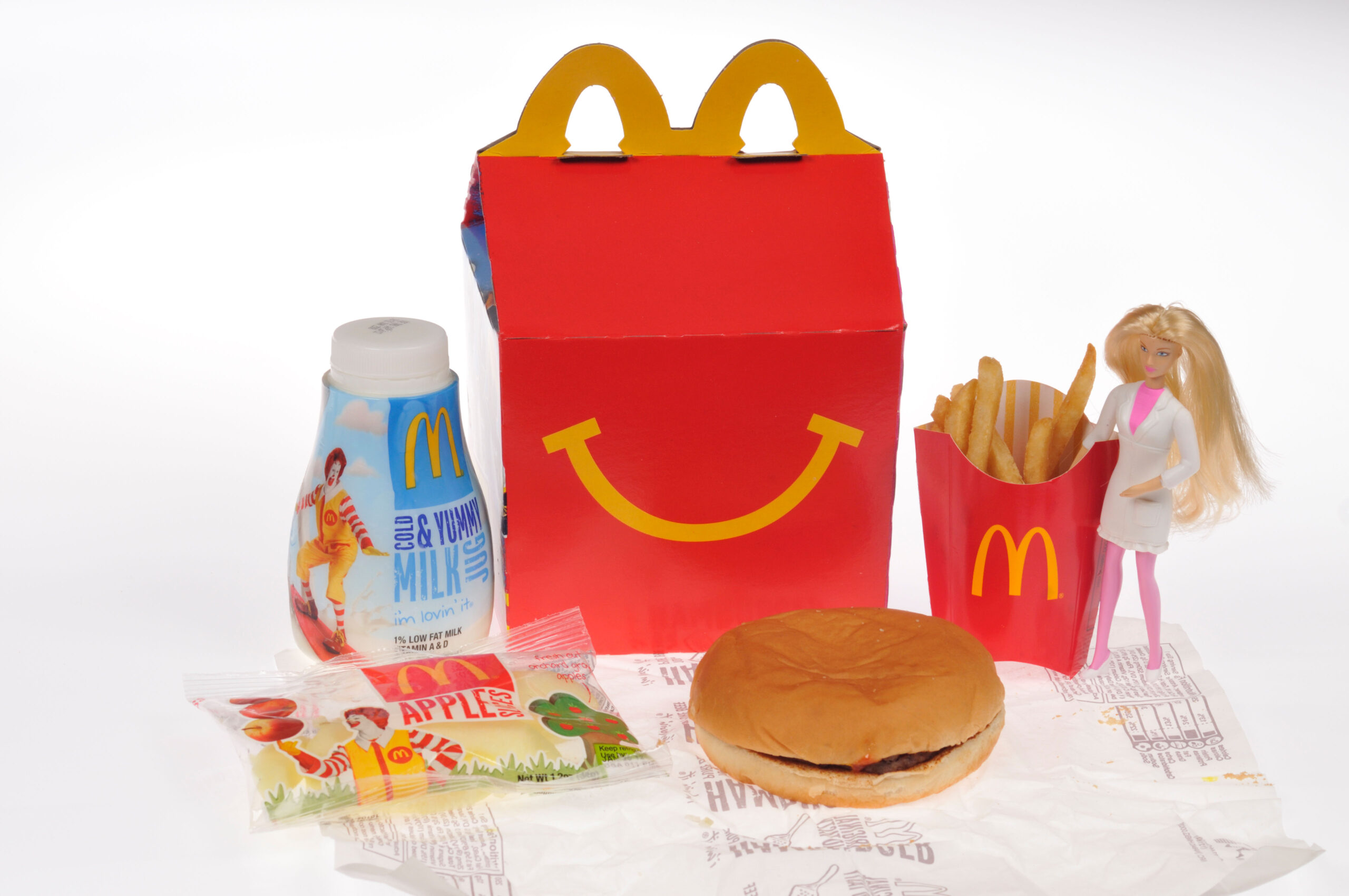 William and Harry Happy Meal