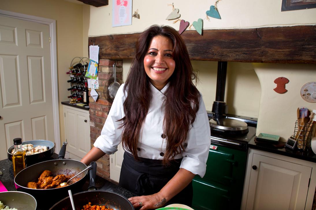 Romy Gill kitchen