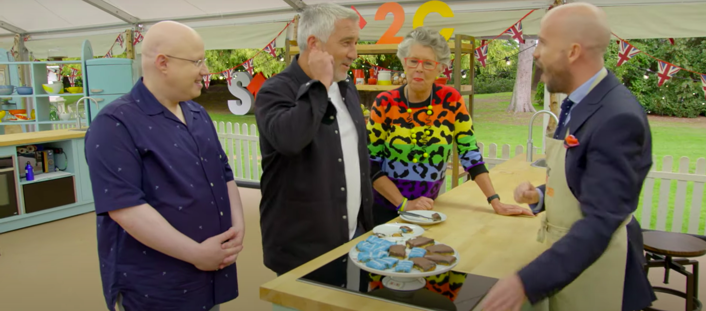Stand Up to Cancer Celebrity Bake Off