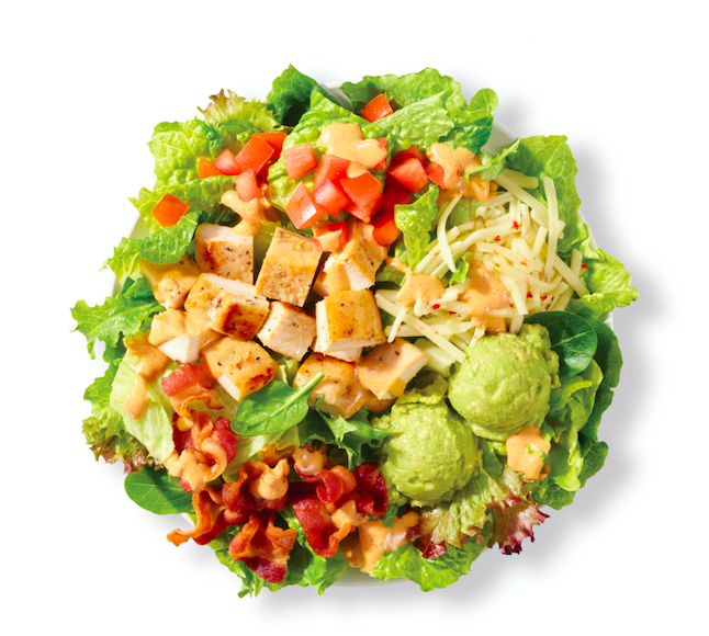Chicken and Avocado salad Wendys)