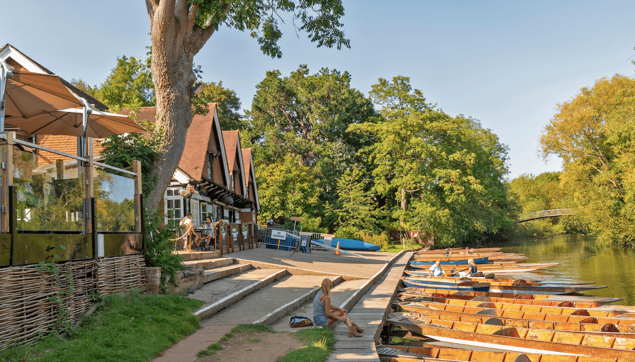 Boathouse Cherwell