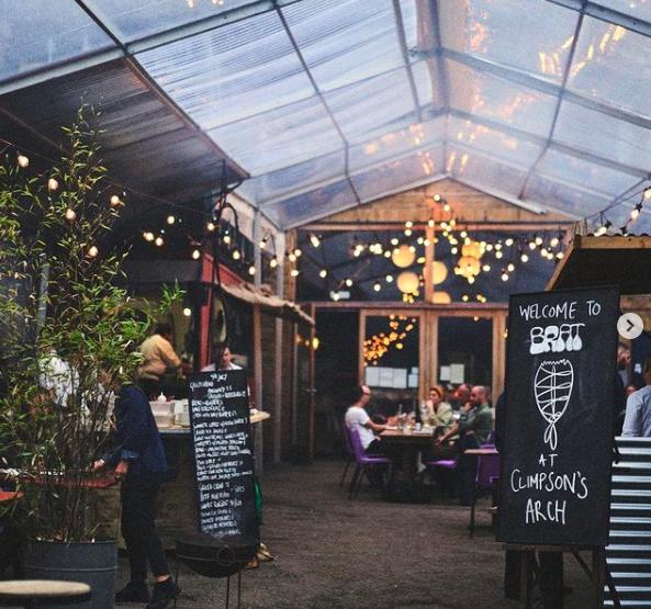 Brat best outdoor restaurants UK