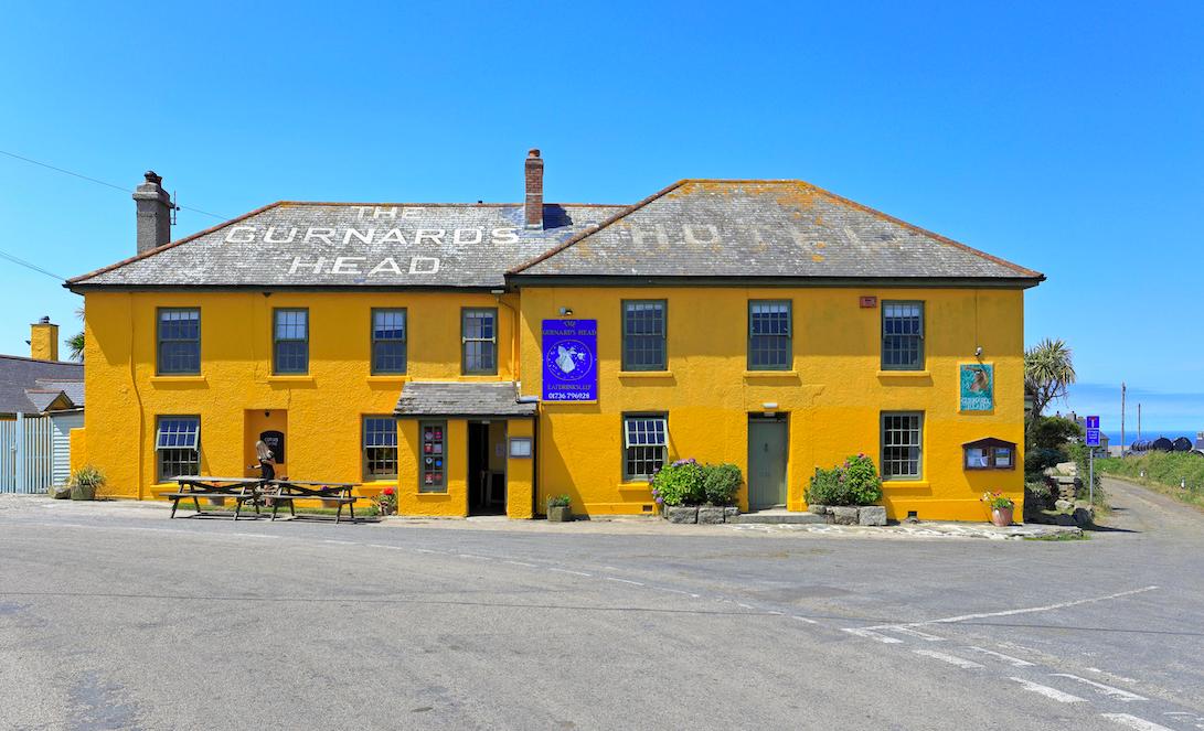 The Gurnard's Head best outdoor restaurants UK