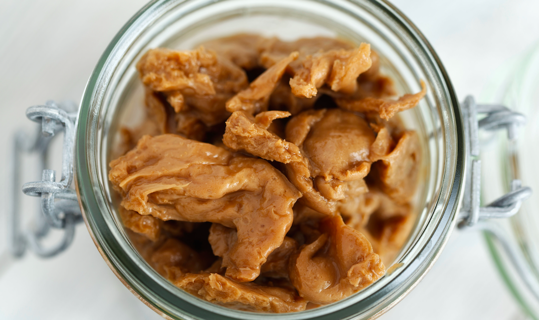 What does seitan look like
