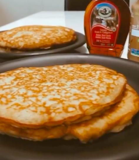 The Rock's pancake recipe