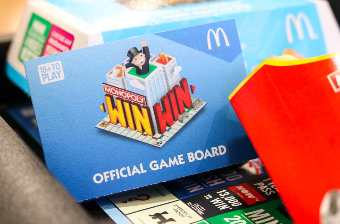 McDonald's Monopoly fraud