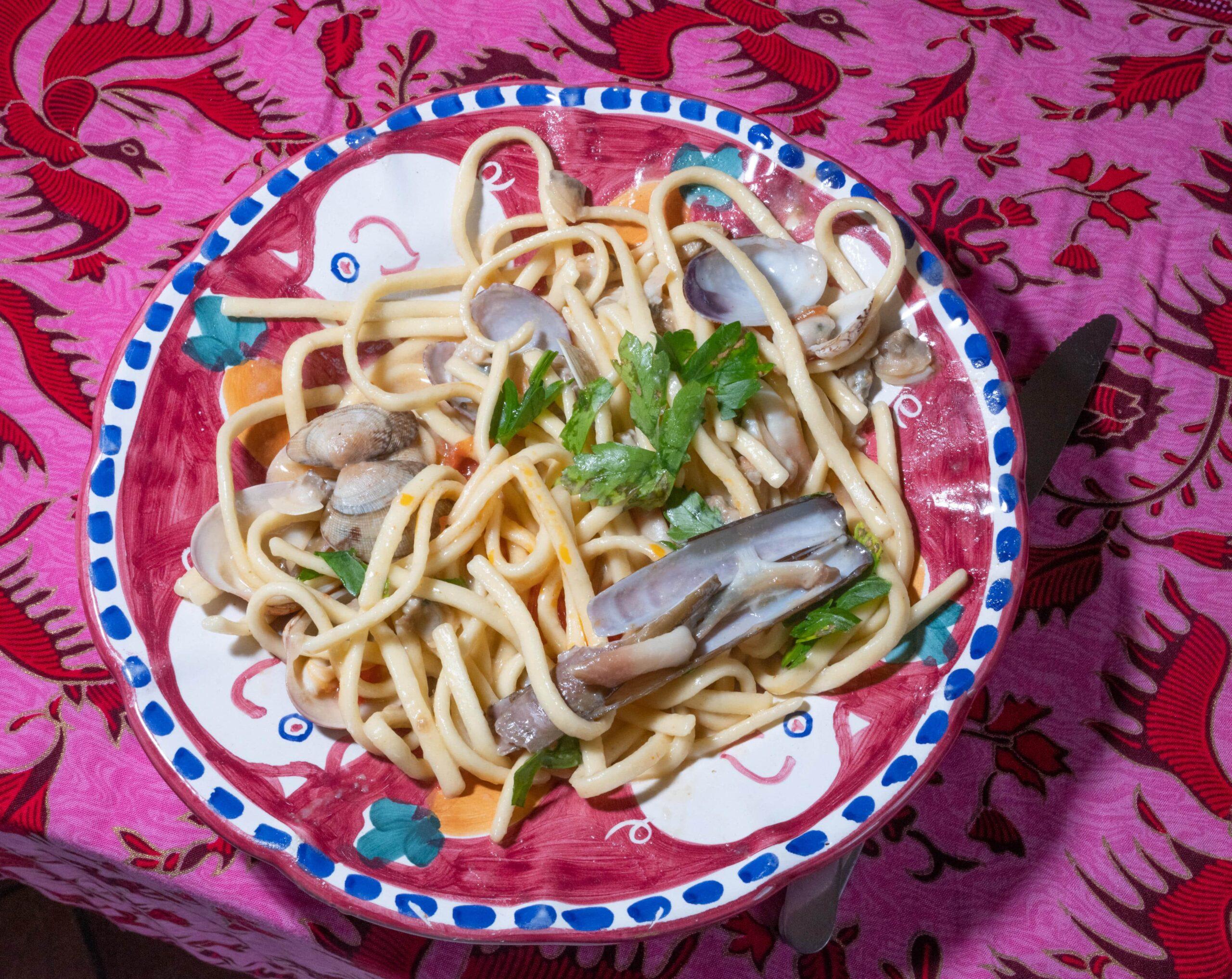 scialatielli pasta seafood