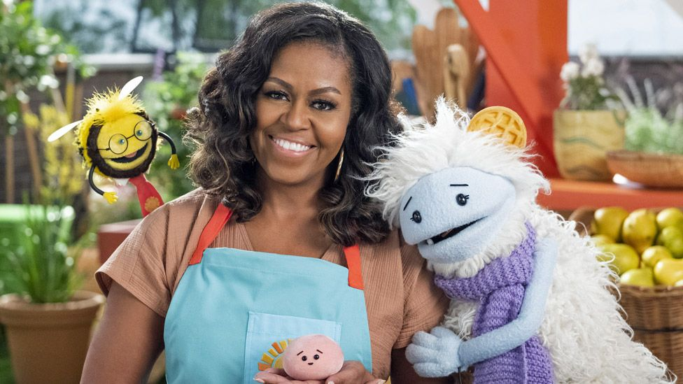 Michelle Obama Netflix cooking