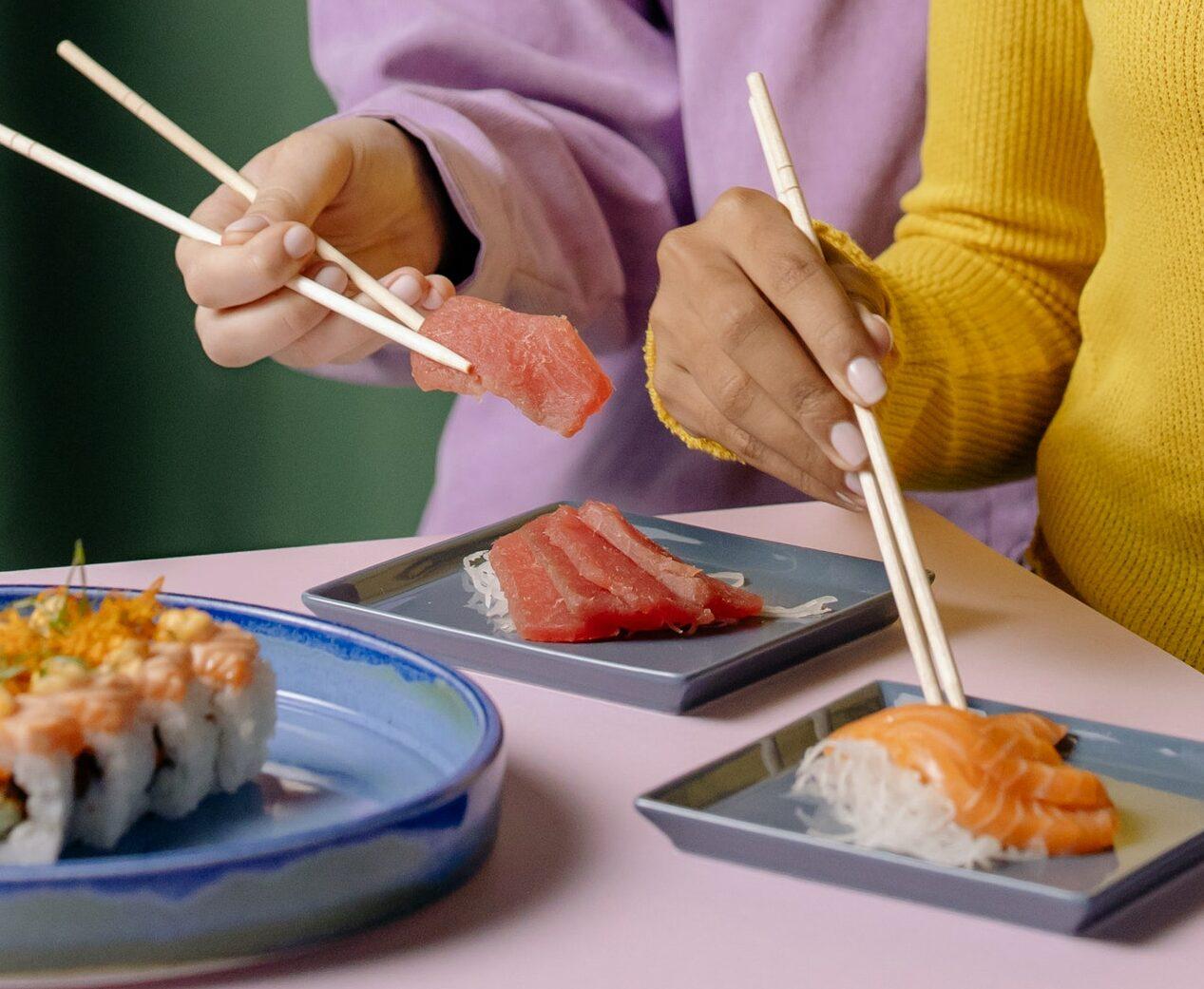 free sushi