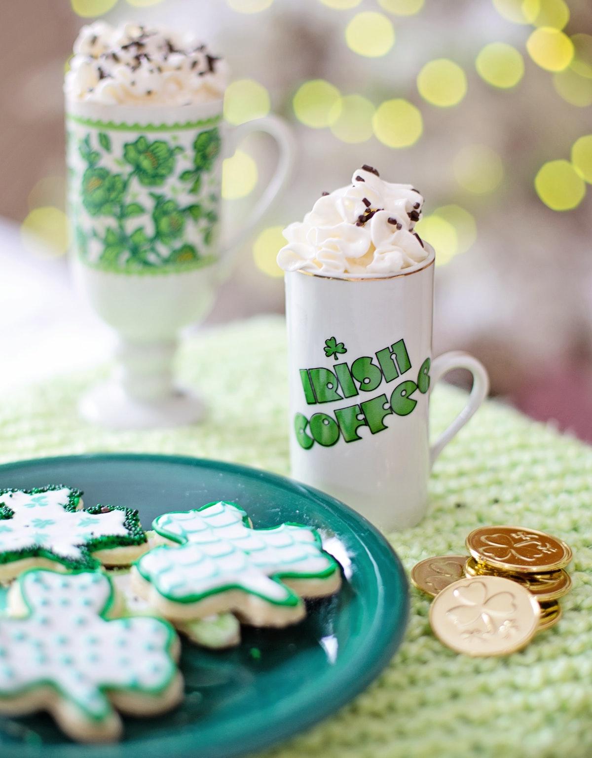 what do the Irish eat on st Patricks day?