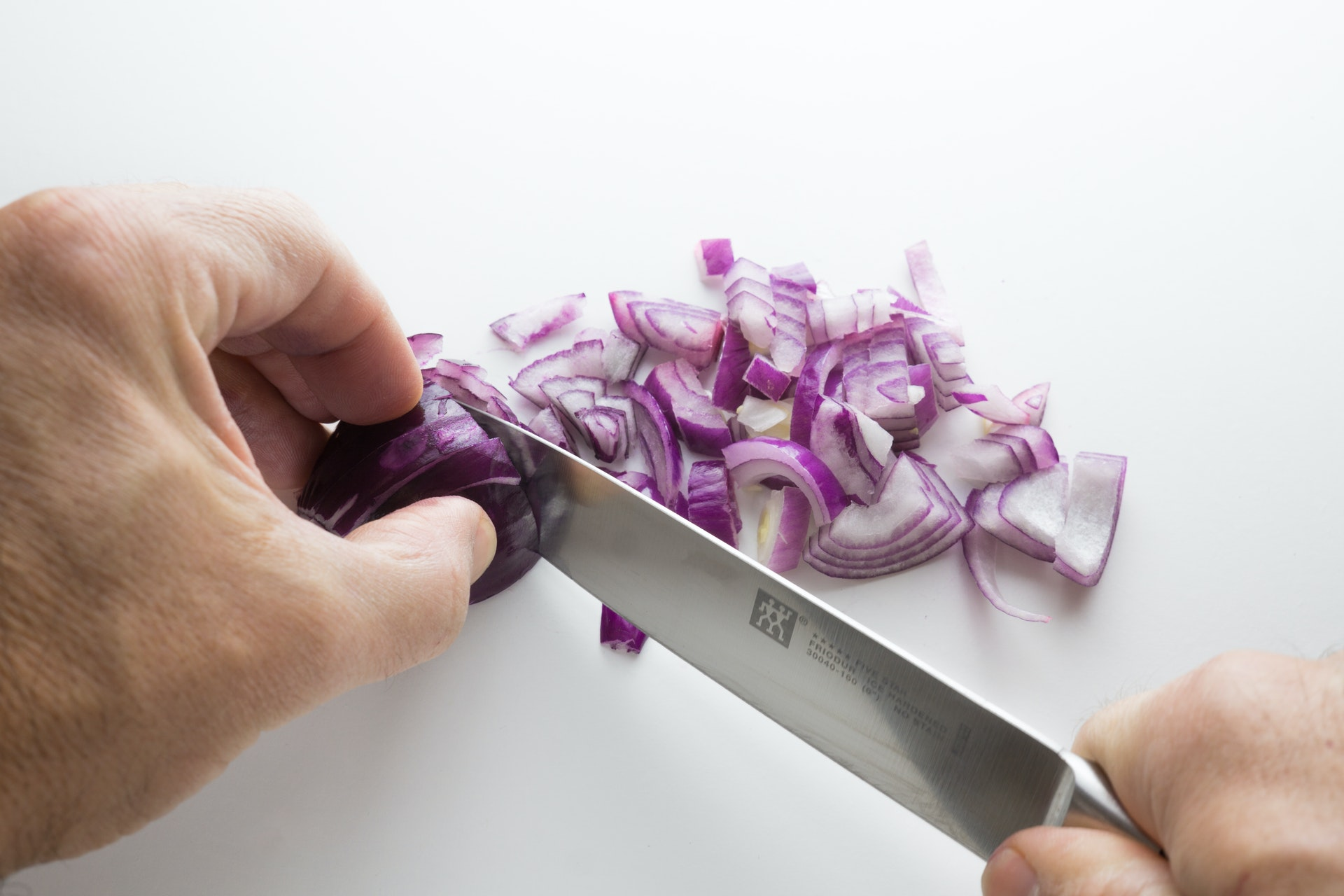 Chopping onions without crying