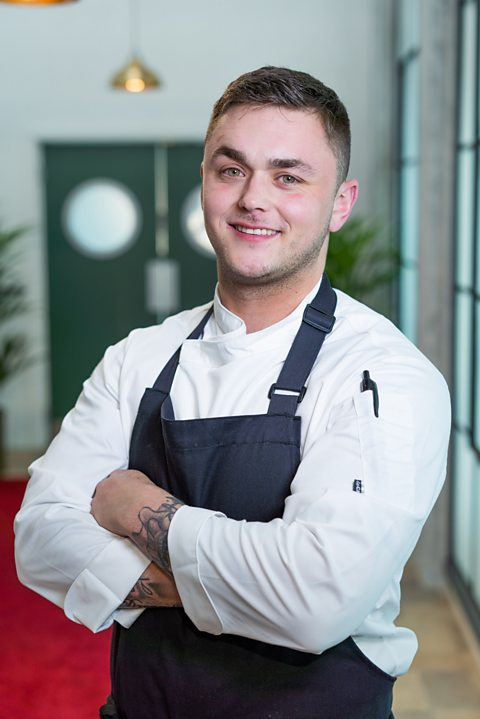 Who are Great British Menu chefs Andy Scollick