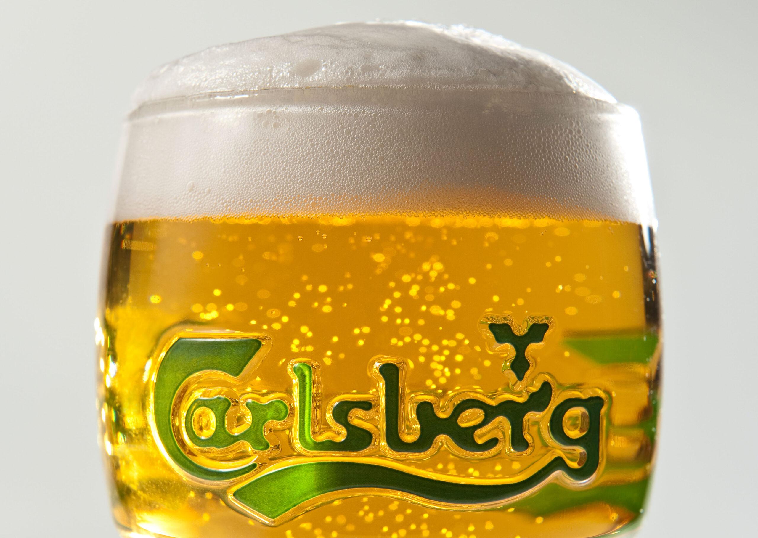 Carlsberg pint