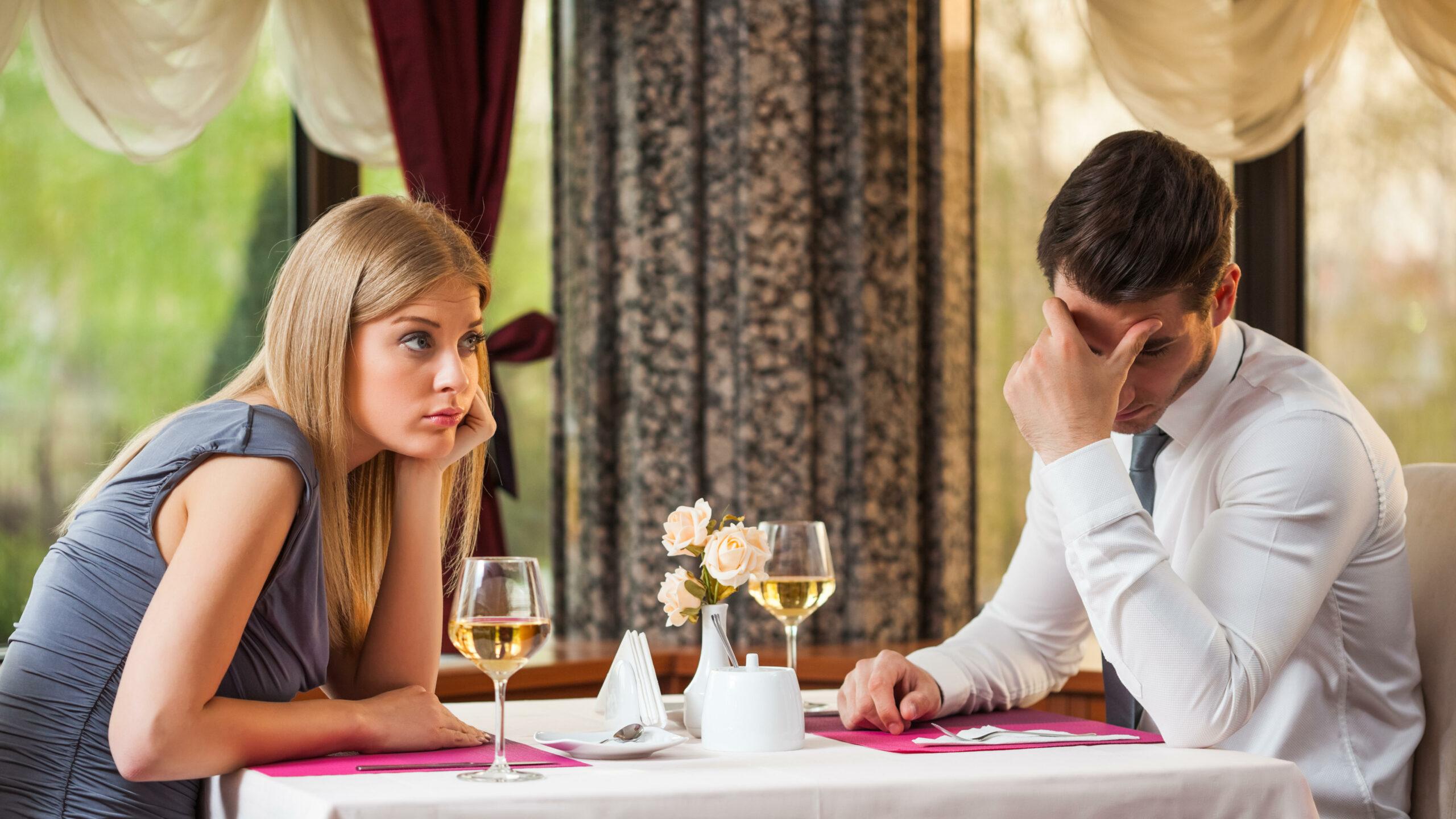 Worst restaurants on a first date