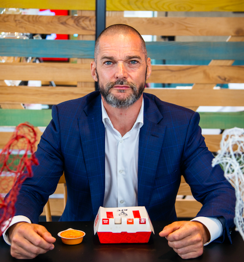 Fred Sirieix Snackmasters