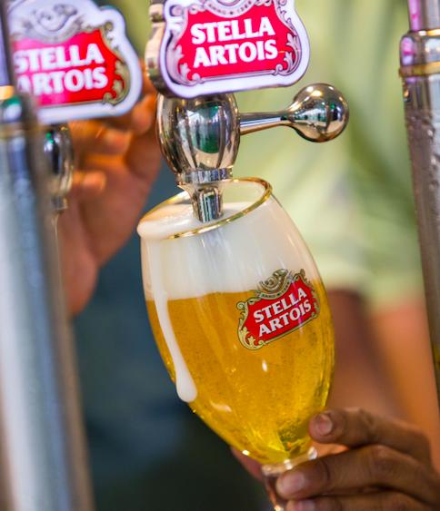 Stella Artois pint