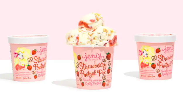 Jeni's Dolly Parton ice cream