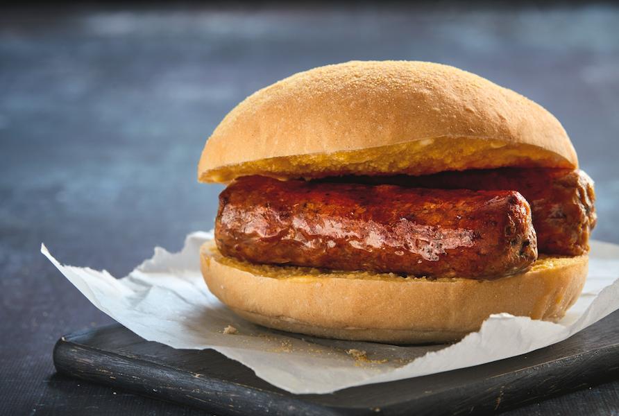 greggs vegan sausage bap