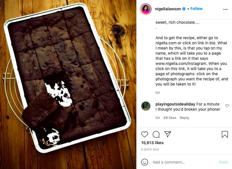 Nigella Lawson brownies
