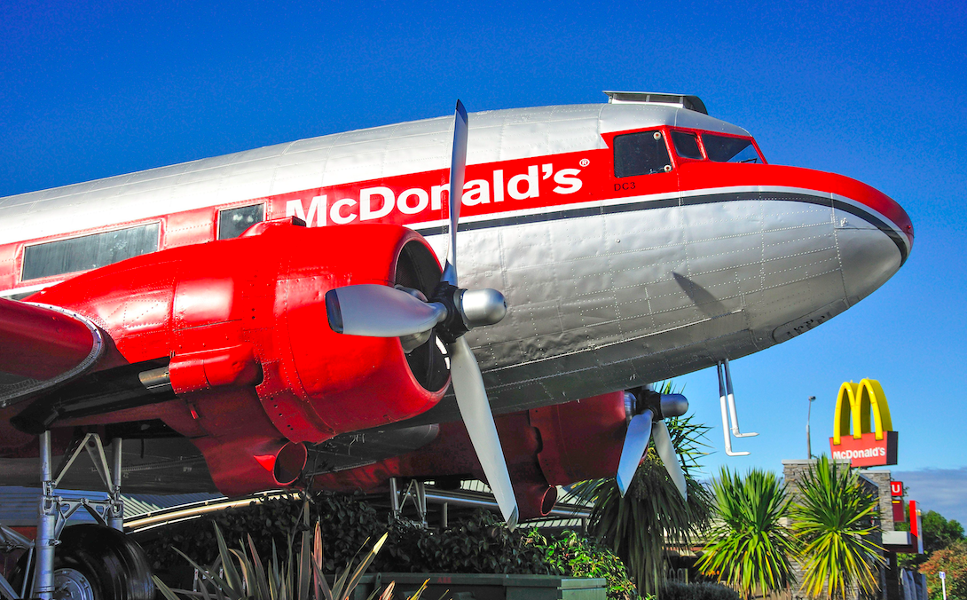 nicest McDonald's in the world Taupo