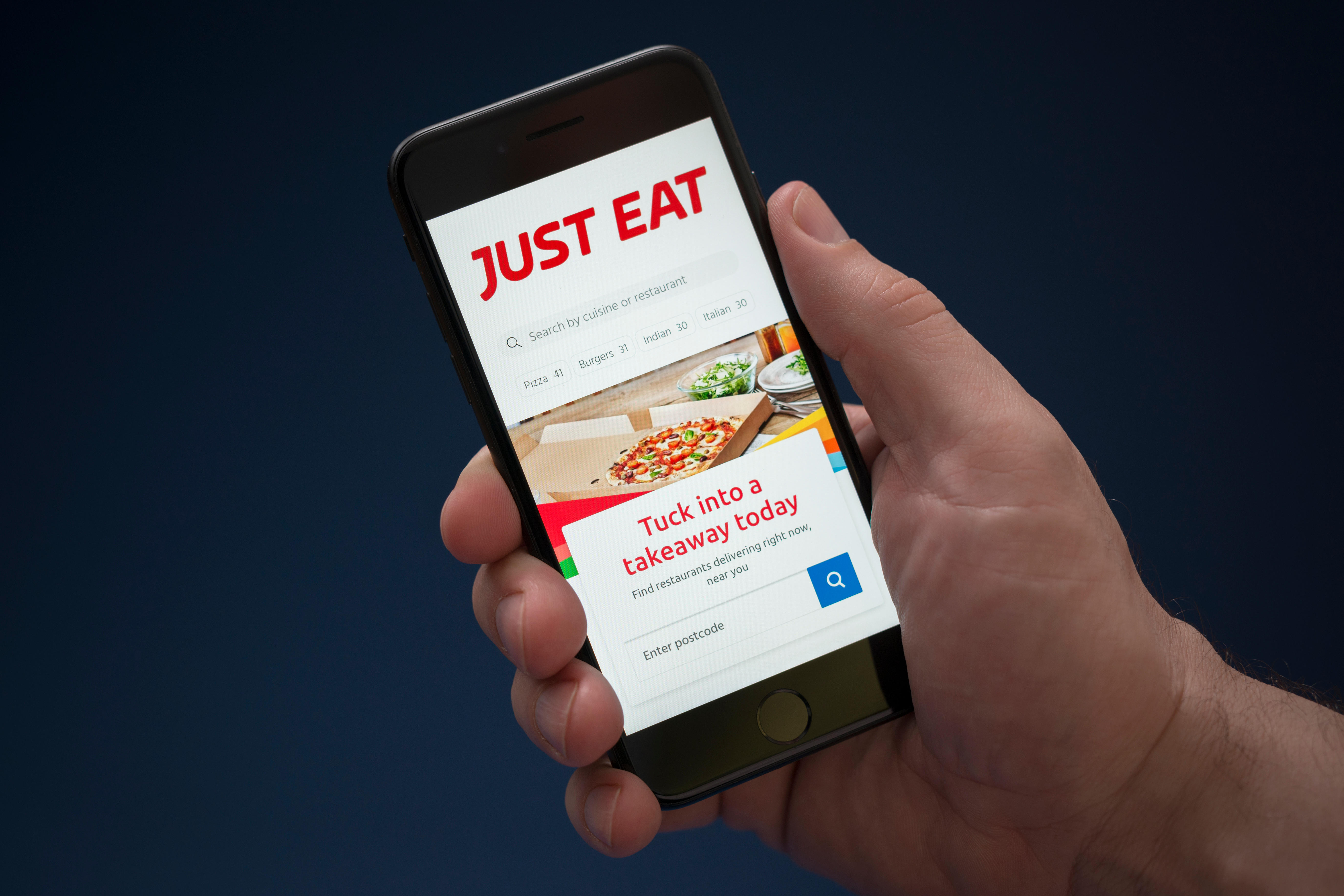 Just Eat mobile app