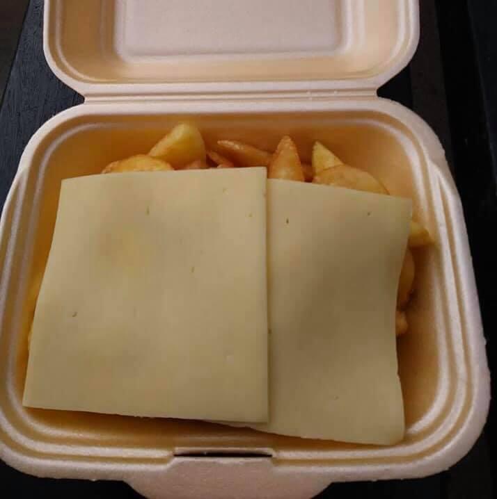 weirdest takeaways cheesy chips